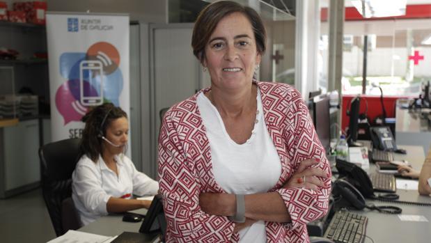 Loreto Somoza, coordinadora del área de Mayores y Discapacidad de Cruz Roja Galicia