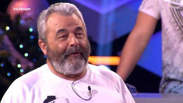 José Pinto, en uno de los programas de Boom, en Antena 3