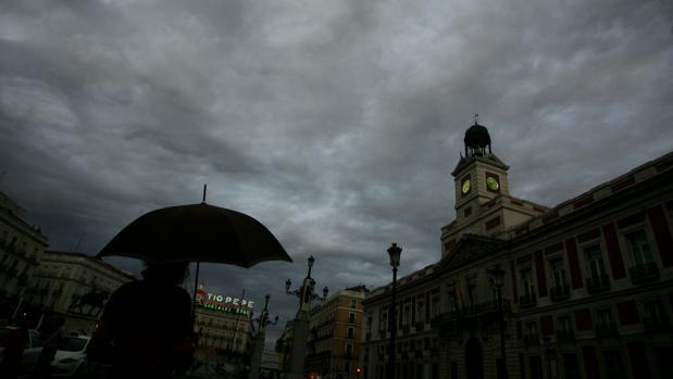Tormeta de verano en Madrid en una imagen de archivo