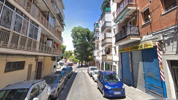 La calle de Gilena, en el distrito de Villaverde, donde ocurrió la pelea