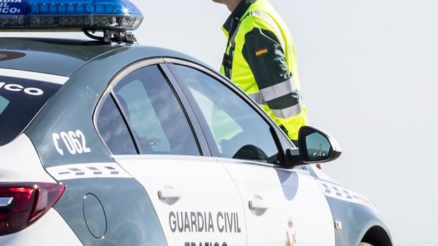La detención se produjo en un control preventivo de la Guardia Civil