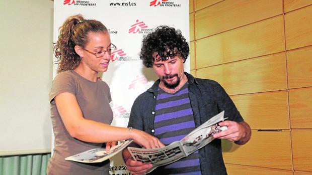 Atienza durante la presentación de la memoria en Valladolid