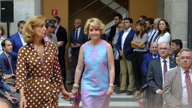 Aguirre, durante la toma de posesión del cargo de Isabel Díaz Ayuso
