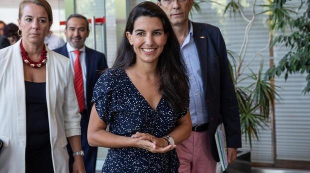 Rocío Monasterio, portavoz de Vox en la Asamblea