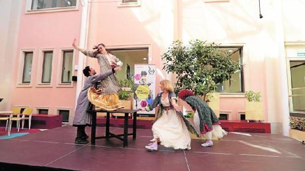 Espectáculos de teatro y danza en Espacio Abierto