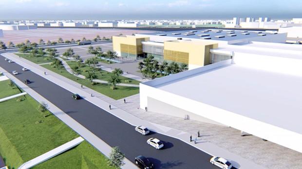 Recreación de los nuevos pabellones de Ifema, que se construirán al otro lado de la M-11