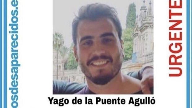 Imagen de Yago de la Puente difundida por SOS Desaparecidos
