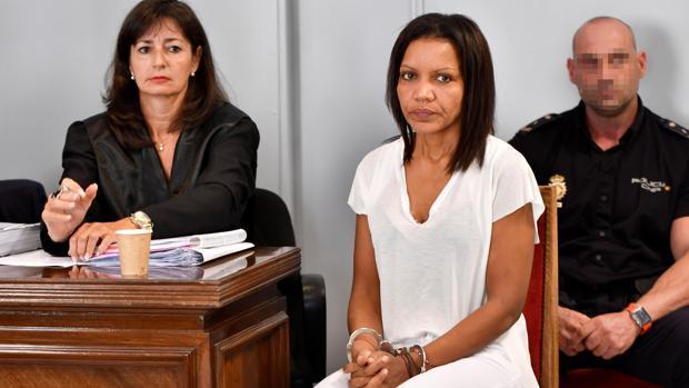 Ana Julia Quezada, en un momento del juicio