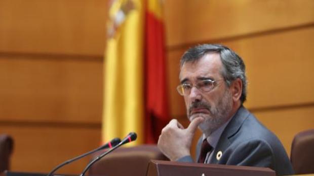 Manuel Cruz, en el Senado