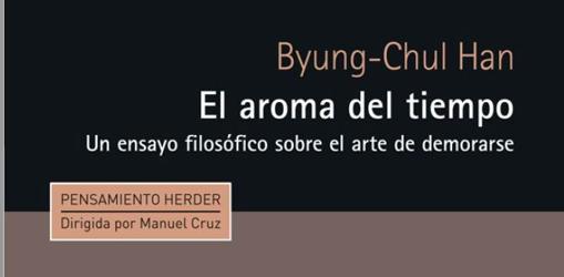 Destacado de la portada del libro de Byung editado por Cruz en 2015 y publicado originalmente en Alemania en 2009