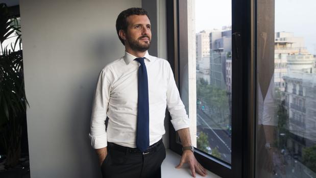 Pablo Casado posa para ABC