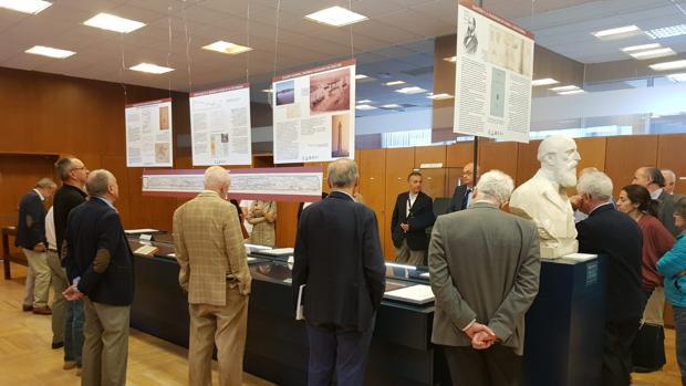 Inauguración de la exposición dedicada a Eduardo Saavedra y a la vía romana de Uxama a Augustóbriga