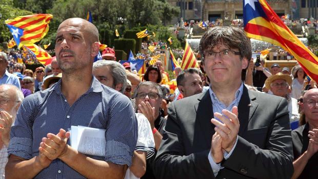 Pep Guardiola, tanteado como sustituto de Quim Torra como candidato a la Generalitat