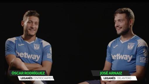 Óscar y José en una entrevista