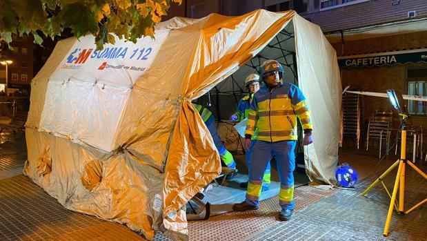 El Summa 112 y Cruz Roja se encuentran en la zona atendiendo a los heridos