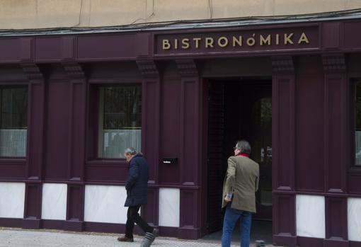 Fachada del restaunrate Bistronómika