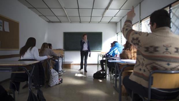 Alumnos con TDAH en una clase impartida en un centro especializado