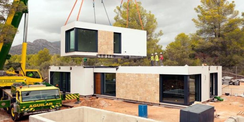 Lo último en construcción en España: casas «para llevar» bajo pedido de una nave al terreno