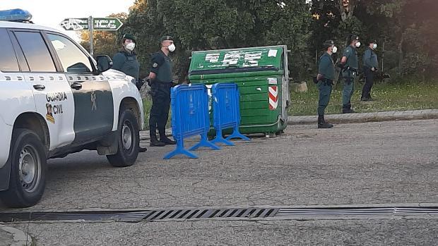 Despliegue de la Guardia Civil para proteger el chalé de Pablo Iglesias e Irene Montero