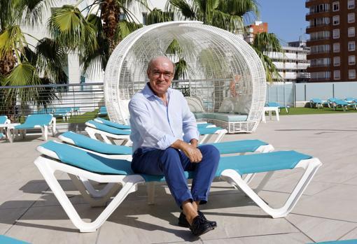 Imagen del presidente de Hosbec, Toni Mayor