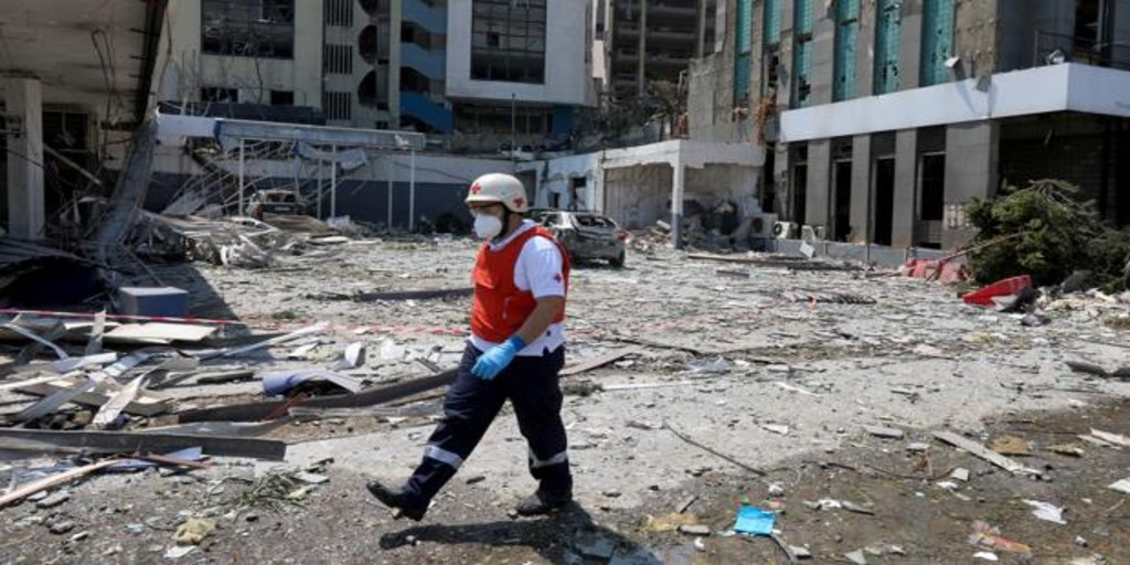 España envía ayuda de emergencia al Líbano tras la brutal explosión en el puerto de Beirut
