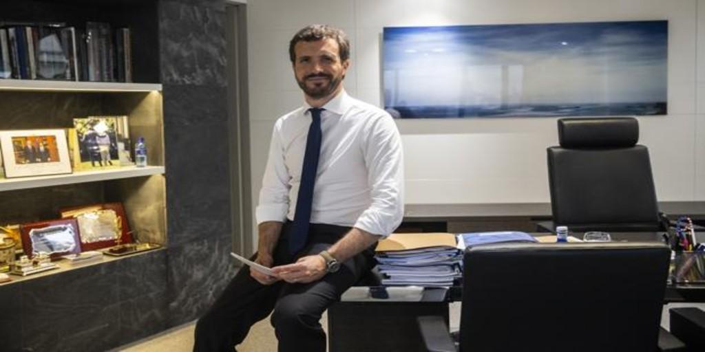 Pablo Casado: «El debate sobre la Monarquía es suicida para la concordia nacional»