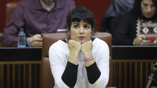 Teresa Rodríguez, a Irene Montero: «Yo sí tengo un curro al que volver y la política no me cambió de barrio»