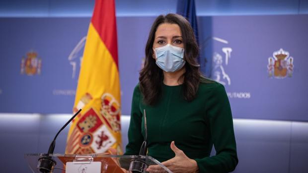 Ciudadanos votará no a los PGE tras desenmascarar a Sánchez: «Ha elegido a Otegui y a Junqueras»