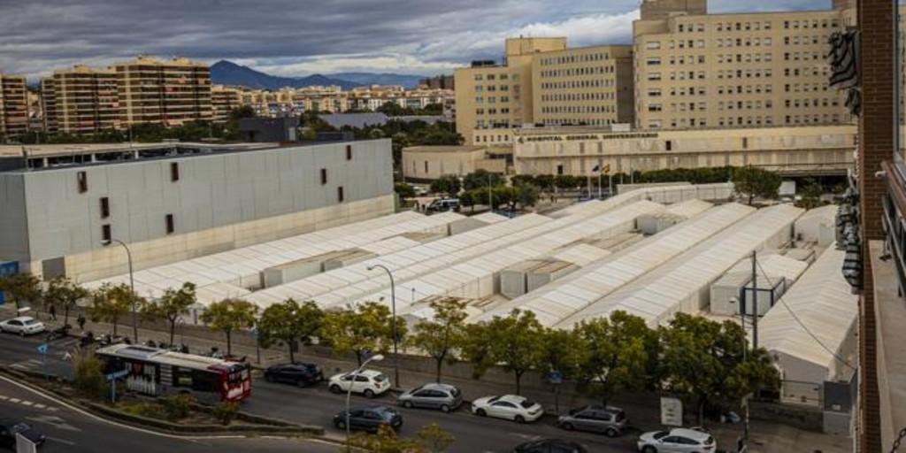 El coronavirus desborda la sanidad valenciana y obliga a trasladar a enfermos a los hospitales de campaña