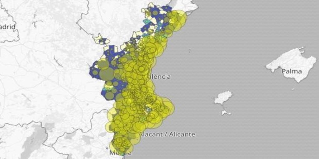 Restricciones en Valencia: mapa y listado por municipios de los últimos rebrotes de coronavirus