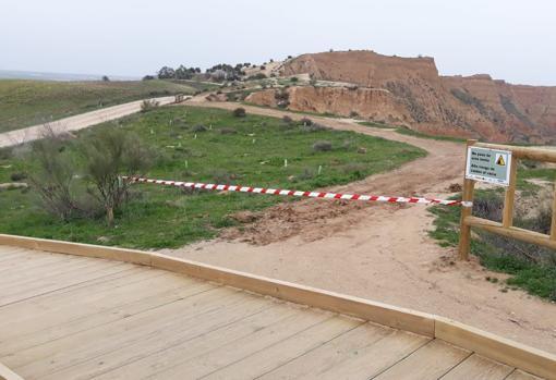 Las Barrancas is a protected area