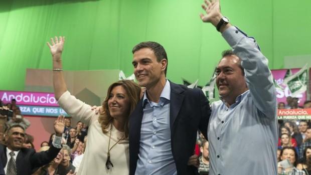 Sánchez se la juega en Andalucía y el susanismo se ve con opciones de victoria