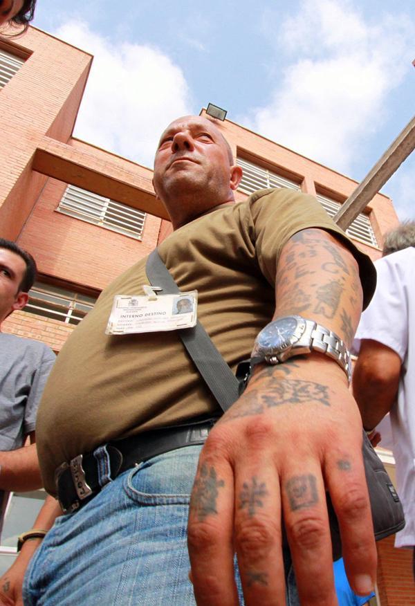 El criminal Francisco García Escalero, conocido como el «matamendigos», o el «asesino de mendigos» en el Psiquiátrico Penitenciario de Alicante