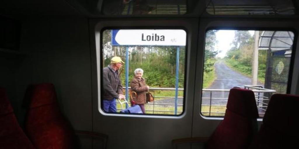 Sin trabajo por el recorte en las frecuencias del tren