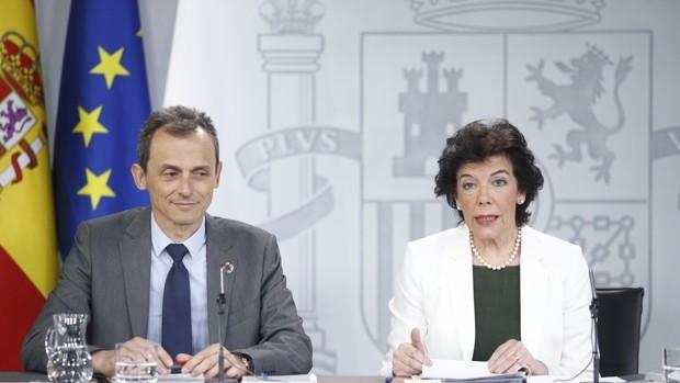 Celaá, Laya, Duque y Redondo piden el 80% de su sueldo como ex altos cargos