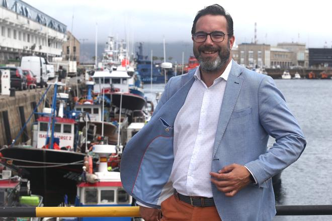 Iván López Van Der Veen, CEO of Pesquera Ancora, asks to think about the