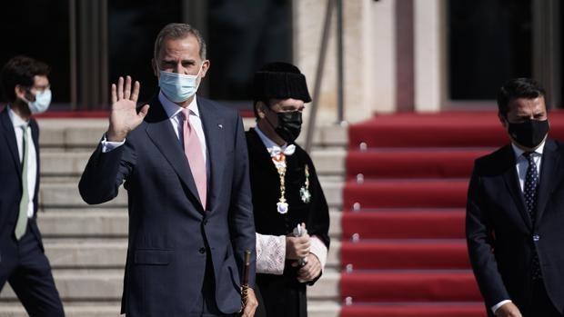 El Rey traslada su mensaje de «ánimo» a los ciudadanos de La Palma tras la erupción del volcán