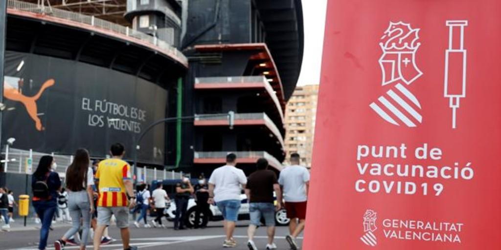 Más de 30.000 valencianos repescados en la vacunación contra el coronavirus sin cita previa