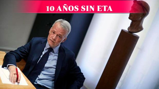 Antonio Camacho: «No fue un abandono de las armas; fue una derrota, y ETA lo...