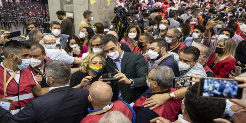 El fantasma de un brote de coronavirus se cierne sobre el congreso del PSOE en Valencia