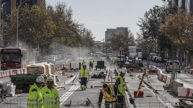 Las obras de la Línea 10 del Metro de Valencia obligarán a reducir el tráfico en la salida a la carretera de El Saler