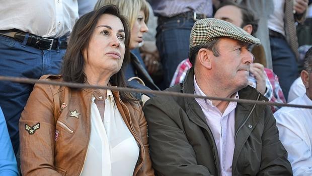 Carmen Martínez-Bordiú y Luis Miguel Rodríguez, en marzo de 2014