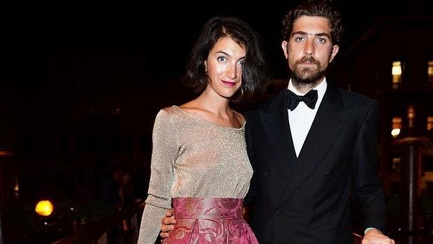 Carlo Borromeo y su esposa Marta Ferri