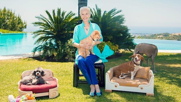 Katalin zu Windischgraetz trata a sus perros como auténticos reyes