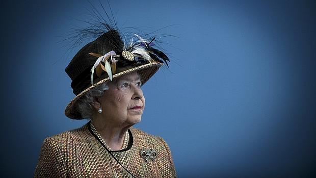 La Reina en una imagen distribuida por la Casa Real británica