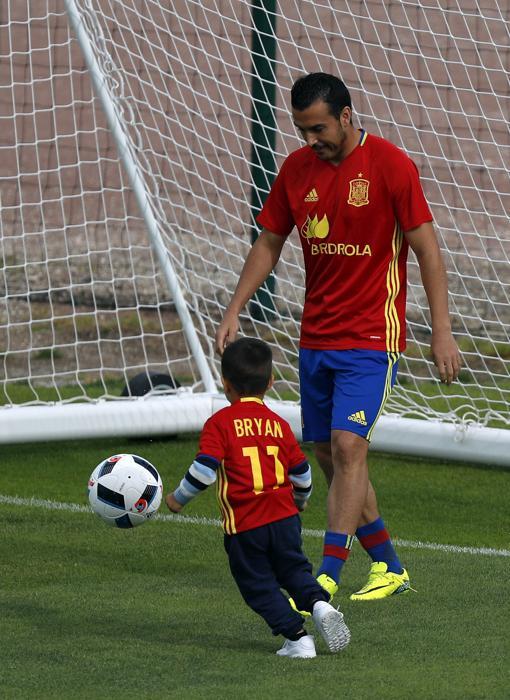 Pedro y el pequño Bryan