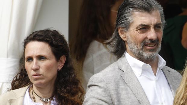 Yolanda junto a Jaime Ostos Jr.