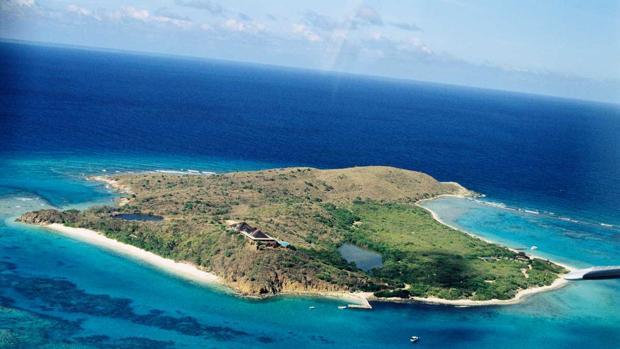 El magnate Richard Brandson adquirió en los 70 la paradisíaca Necker Island