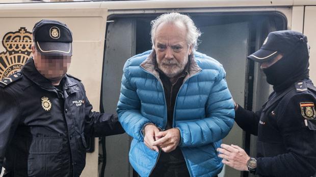 Tolo Cursach el pasado 3 de marzo, cuando fue detenido. La Fiscalía le sitúa en el centro de una trama de corrupción policial