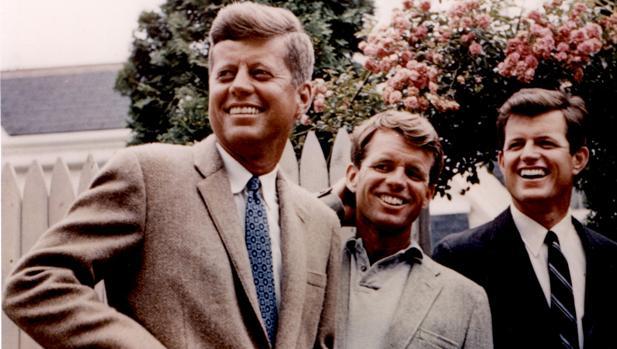 Los hermanos Kennedy: John, Bob y Edward